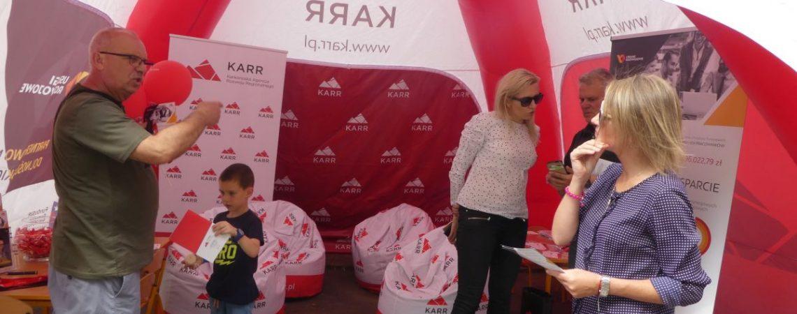Lwóweckie Lato Agatowe Stoisko informacyjne KARR