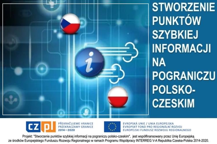 Stworzenie punktów szybkiej informacji na pograniczu polsko-czeskim